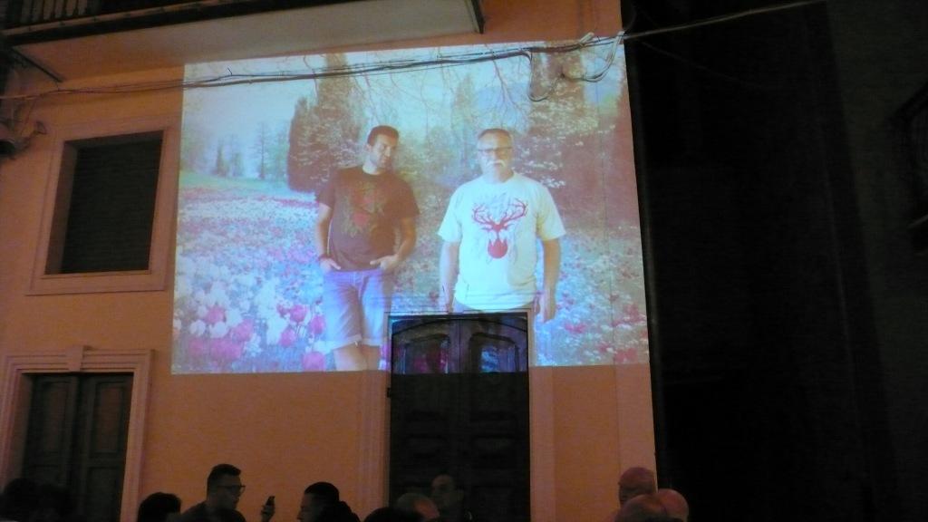 Plinio e suo figlio Giulio per Fern Blossom