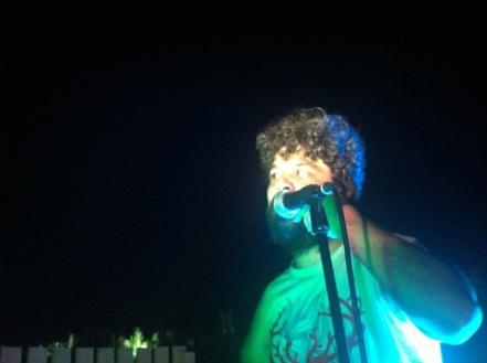Diego in concerto a Lu Barrott di Nicola