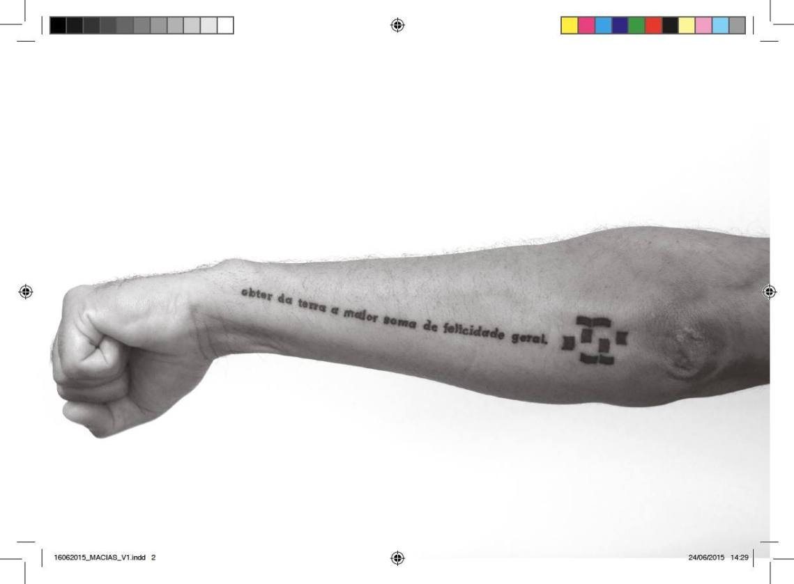 Juan Pablo Macias, TATTOO (Tatuaggio realizzato da Ozmo), Stampa fotografica, 2014.