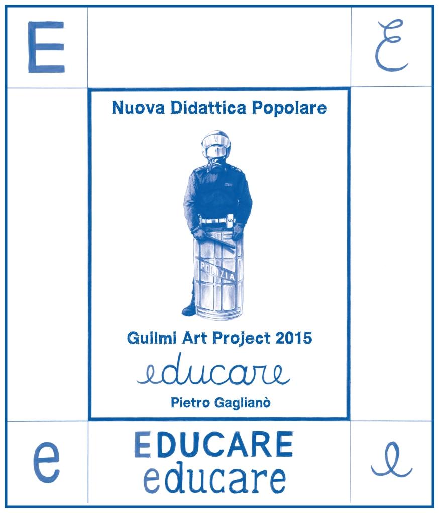 Giuseppe Stampone, Educare, ediz. 2015 per GuilmiArtProject