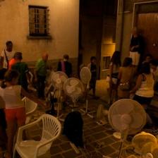 Matteo Coluccia, La cultura del rispetto, durante la Nuova Didattica Popolare, Guilmi, 2015 © Andras Calamandrei