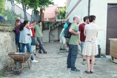 Partecipanti e curiosi. Crediti fotografici: Daniela Pitrè