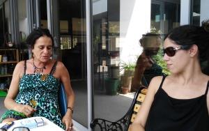 Elena Mazzi con Adriana Gandolfi