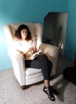 Elena Mazzi si documenta per Avanzi
