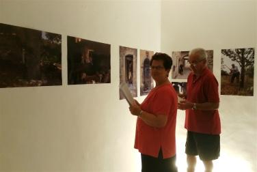 I coniugi Lancia visitano Avanzi nei giorni successivi alla presentazione del progetto