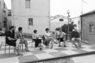 Rete sulla scacchiera, Casacalenda. Foto: Matilde Martino