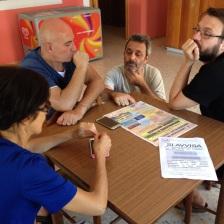 Al bar Il Pino. Foto: Matilde Martino