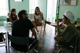 Discussione di mORALE e del suo percorso con le mediatrici