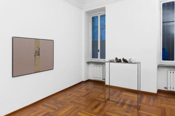 Cosimo Veneziano, PetrolioAppunti. Installation view, 2017 © courtesy Galleria AlbertoPeola