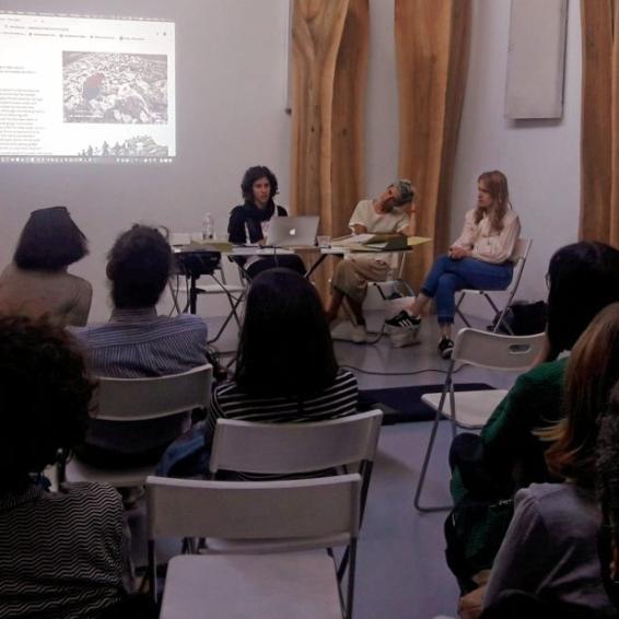 Elena Mazzi, Lucia Giardino e Federica Boragina da Standard