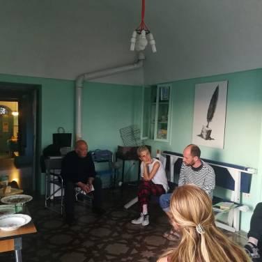Studio visit con Massimo Ricciardo